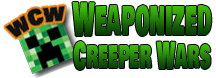 Play on the Weaponized Creeper Wars Server